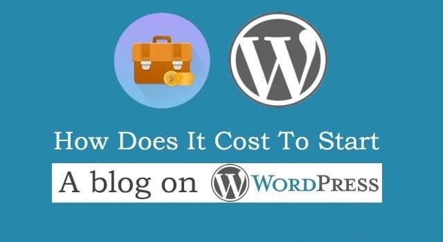 Wordpress Cost