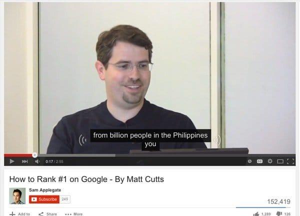 Matt Cutts Meme
