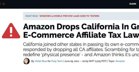 Amazon Cons