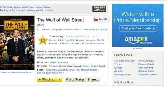 IMDB Ad Space