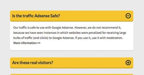 Adsense Safe Notice