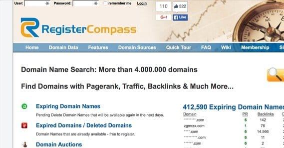 Traffic adult expired domains