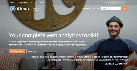 Alexa.com Website