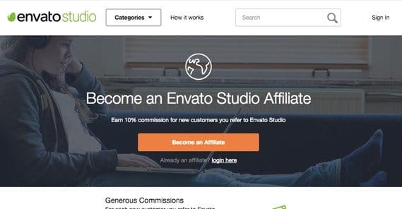 Envato Studio Affiliate Program