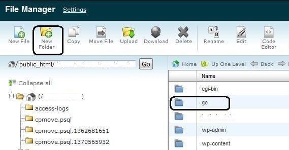 Create Outbound Folder
