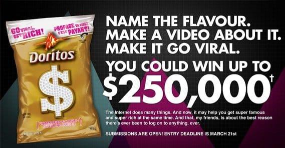 Doritos Contest 250k