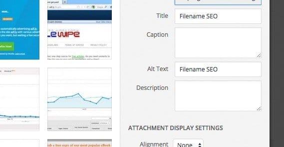 Google Images Filename SEO