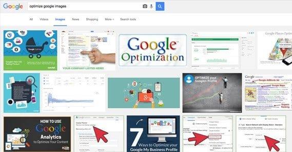 Optimize Google Images