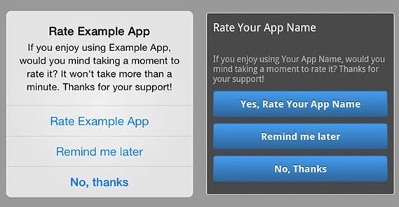Encourage App Reviews