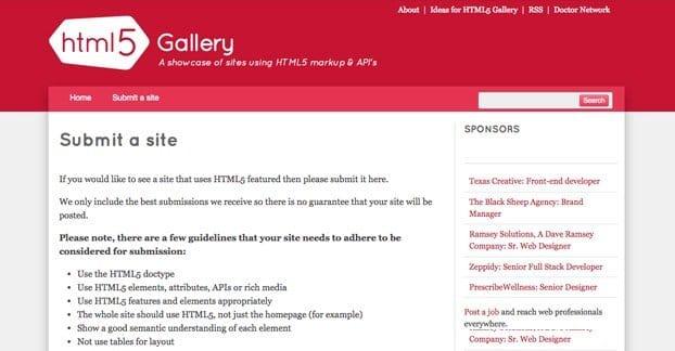 HTML5 Gallery