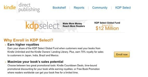 14 ways to increase your kindle book sales the catch is if you choose to participate in the program you have to give amazon exclusive sale rights to the book in other words you cant sell it on solutioingenieria Gallery