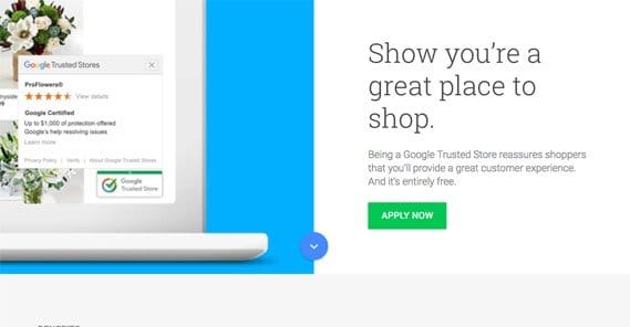 Trusted Store Application Page