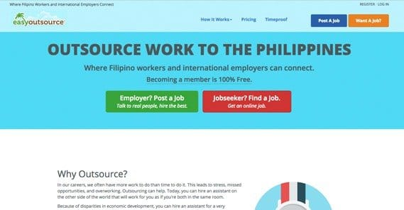 EasyOutsource Website