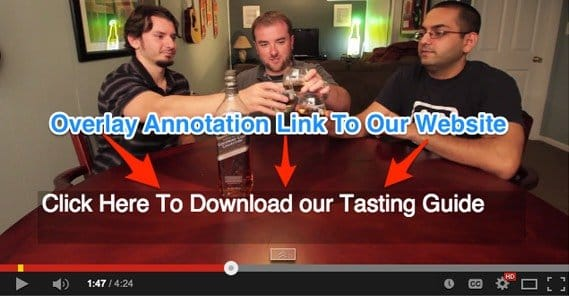 Example YouTube Annotation