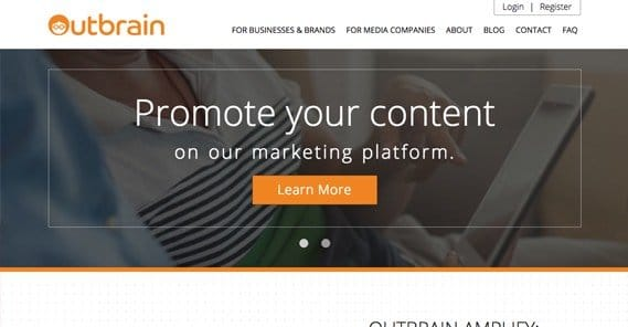 Outbrain Website
