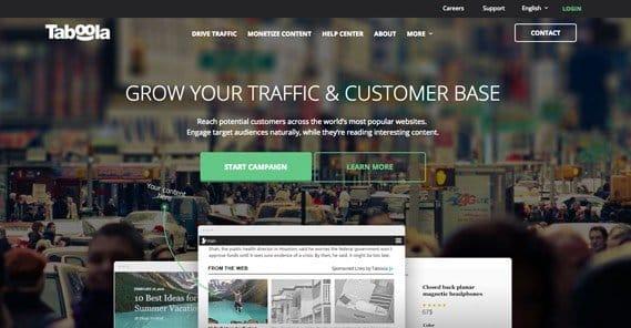 Taboola Website