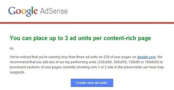 Google AdSense Ad Units