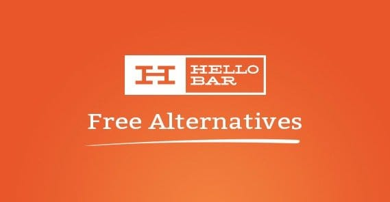 Free Hellobar Alternatives