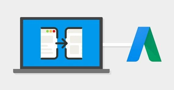 Redirects on AdWords