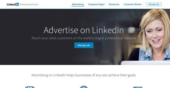 Advertise LinkedIn