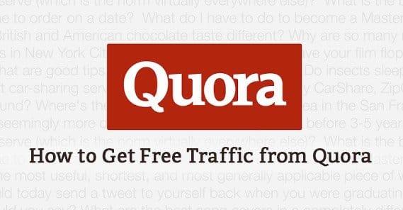 Free Quora Traffic