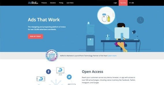 AdRoll Website