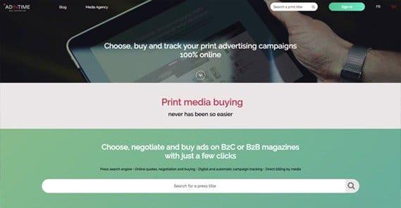 Adintime Website
