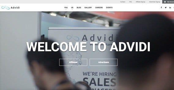 Advidi Website