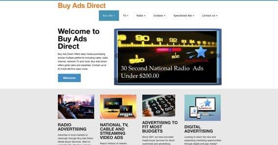BuyAdsDirect Website