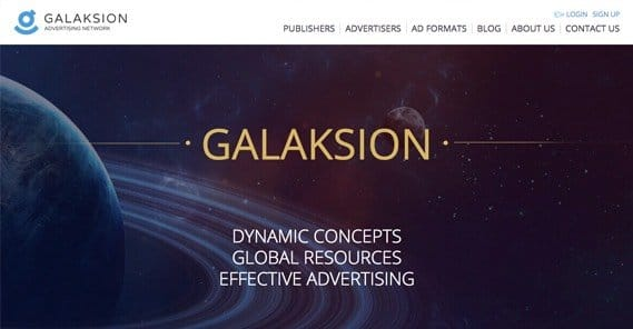 Galaksion Homepage