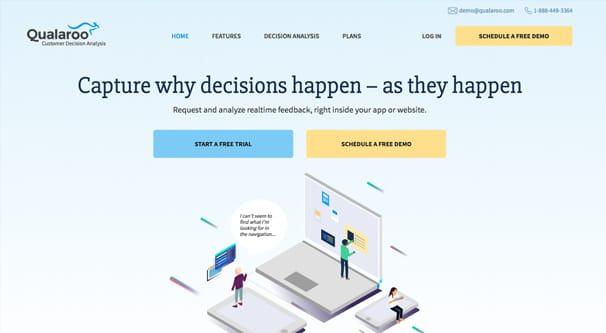 Qualroo Homepage