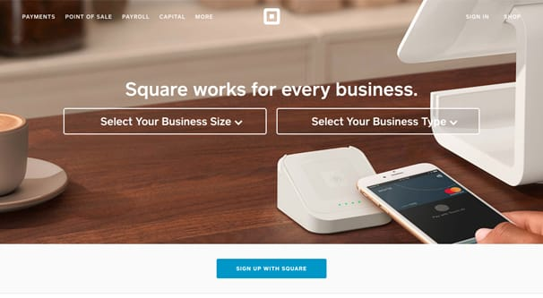 Square Homepage