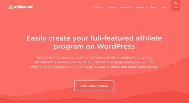 Affiliate WP Homepage