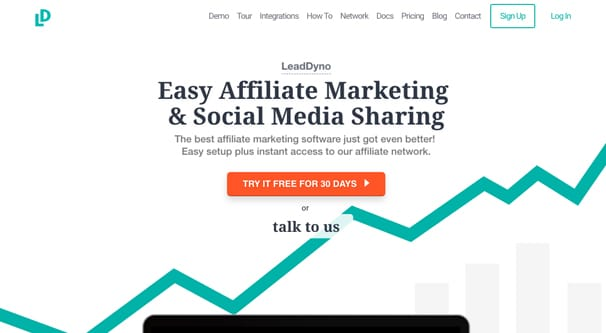 Lead Dyno Homepage