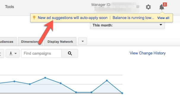 AdWords Suggestions
