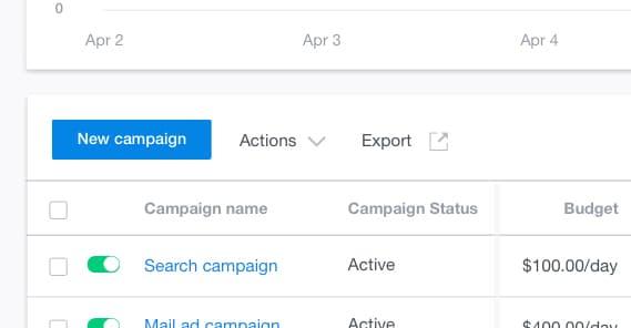 Create a Campaign on Gemini