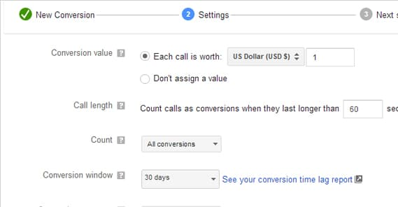 Example Conversion Value