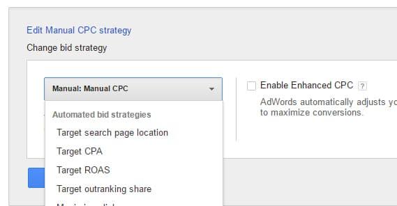 Manual CPC Strategy