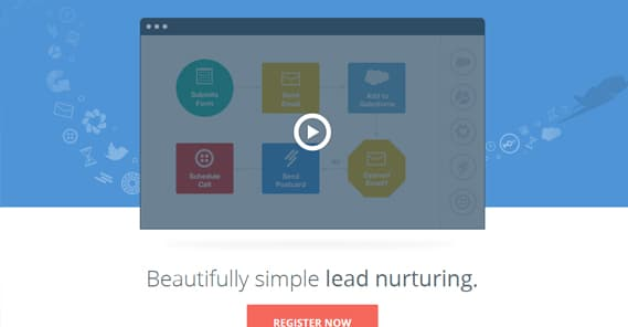 Video on Landing Page