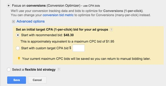 Google Ads Focus on Conversions