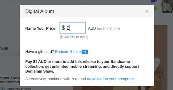 Free Bandcamp Albums