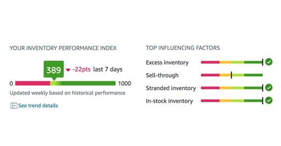 Performance Index Amazon