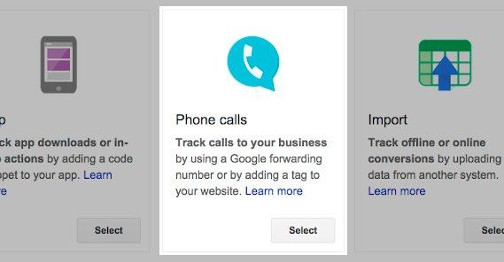 Phone Calls Tracking Google Ads