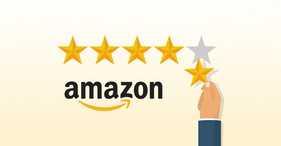 Amazon 5 Star Review Illustration