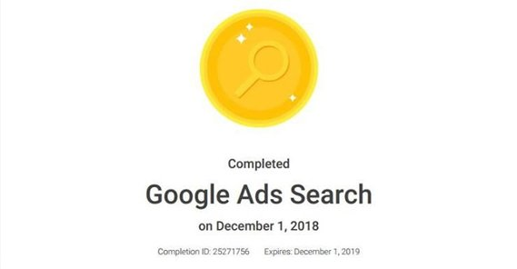 Google Ads Certification