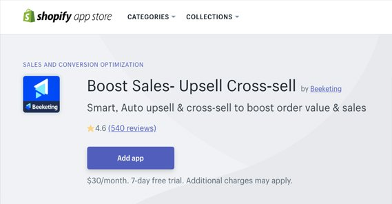 Shopify Boost Sales