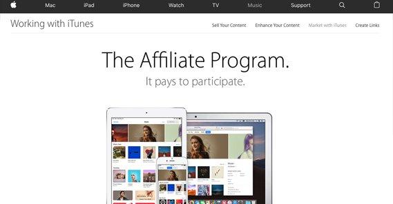 Affiliate Program on Apple