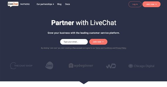 LiveChat Partners