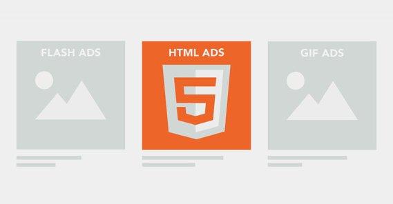 HTML5 Ads vs Gif and Flash
