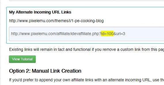 Affiliate Link URL